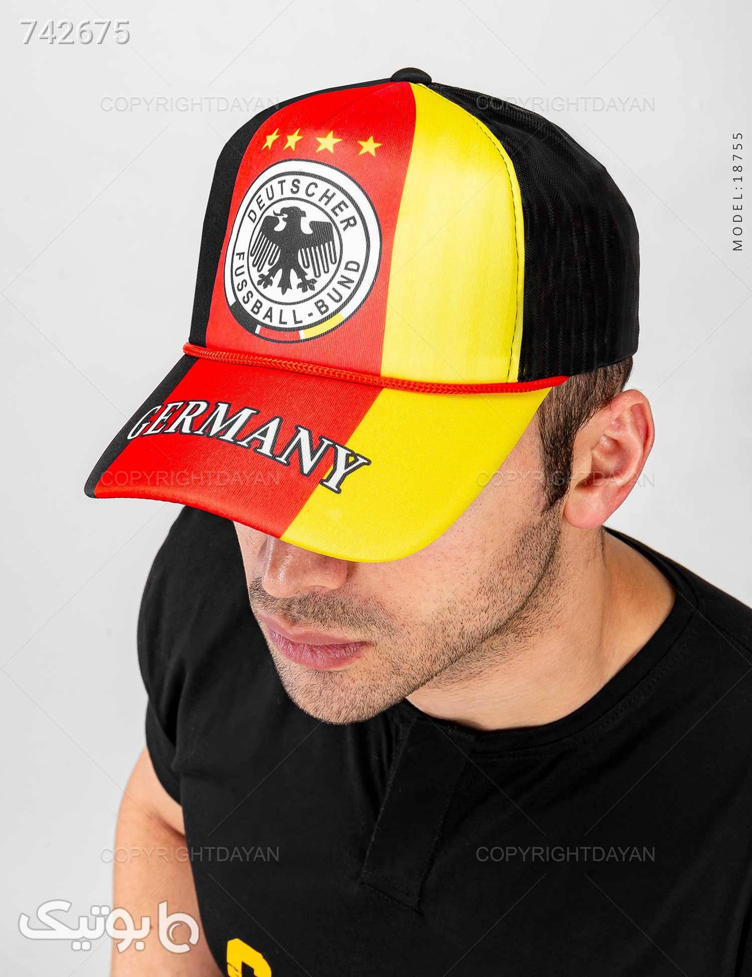 کلاه کپ Germany مدل 18755 قرمز کلاه و اسکارف