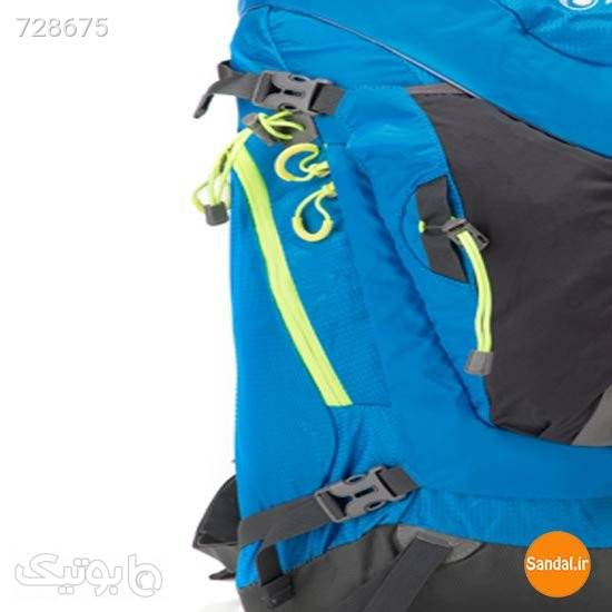 کوله پشتی کوهنوردی 45 لیتری پریما مدل 2278 آبی کوله پشتی