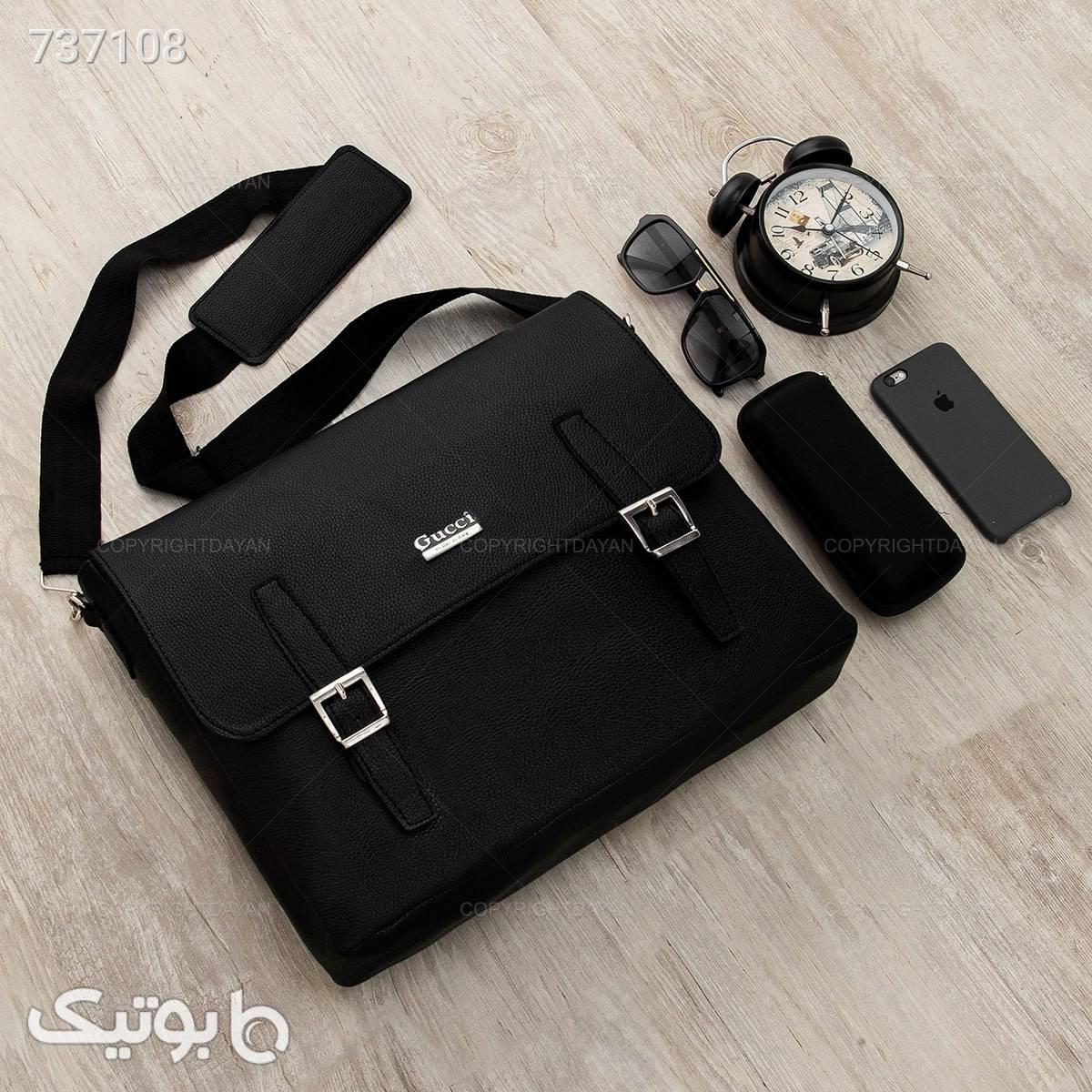 کیف اداری Gucci مدل 18097 مشکی کیف اداری
