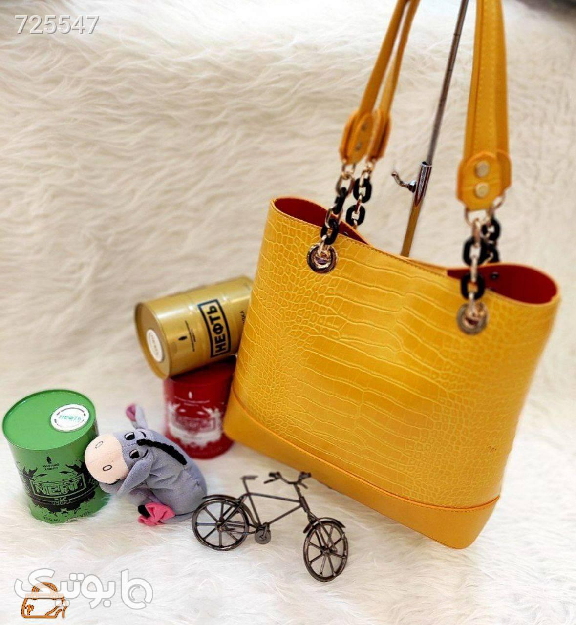 کیف زرد كيف زنانه
