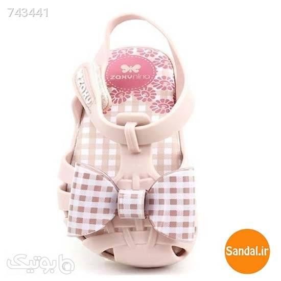 صندل نوزادی زاکسی مدل 17468 _ 90059 صورتی کیف و کفش بچگانه