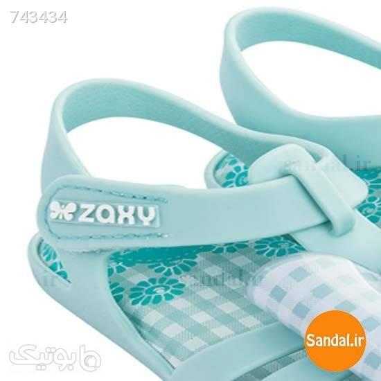صندل نوزادی زاکسی مدل 1746890064 فیروزه ای کیف و کفش بچگانه