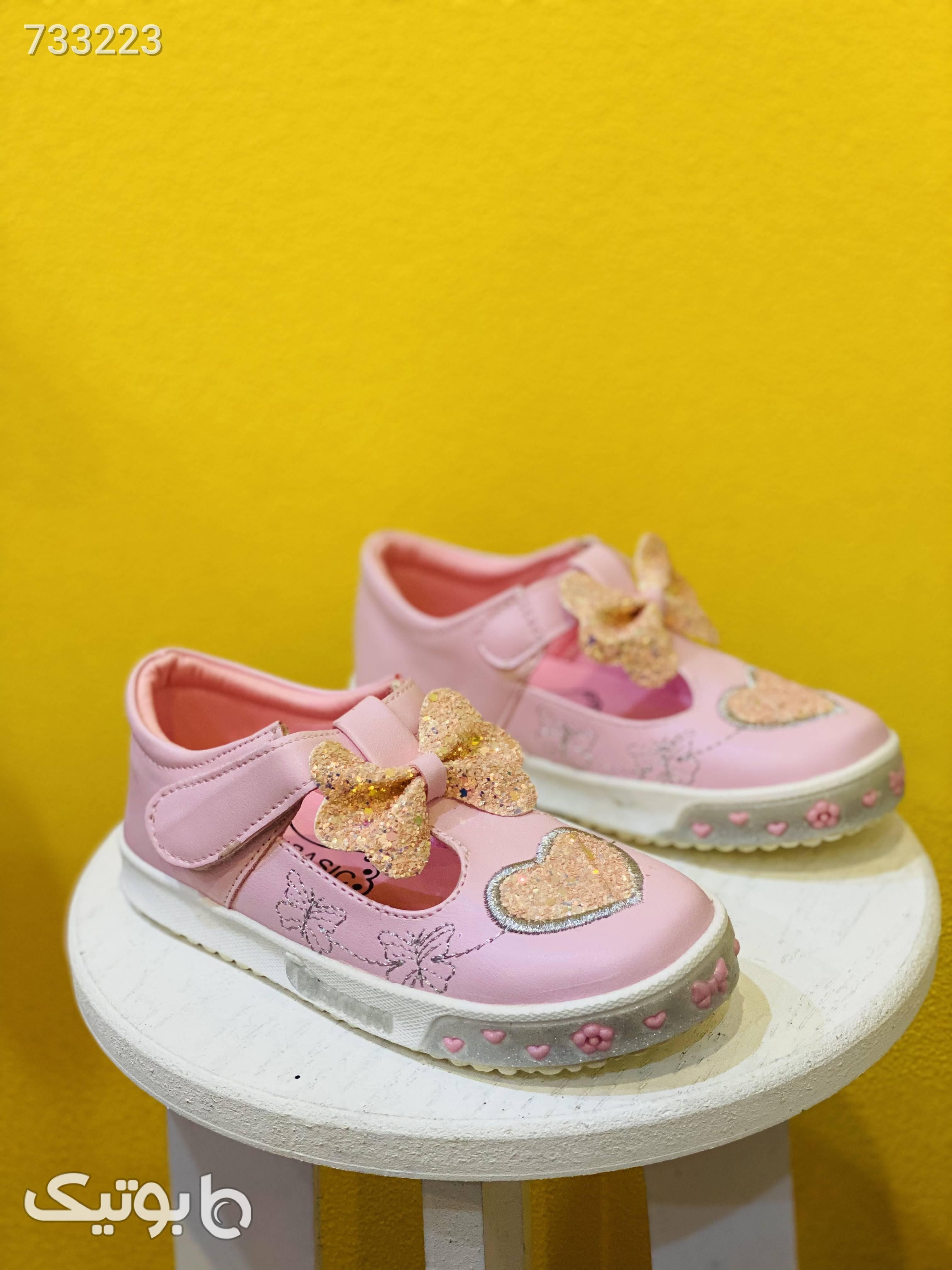 کفش اسپرت دخترانه کودک مشکی کیف و کفش بچگانه