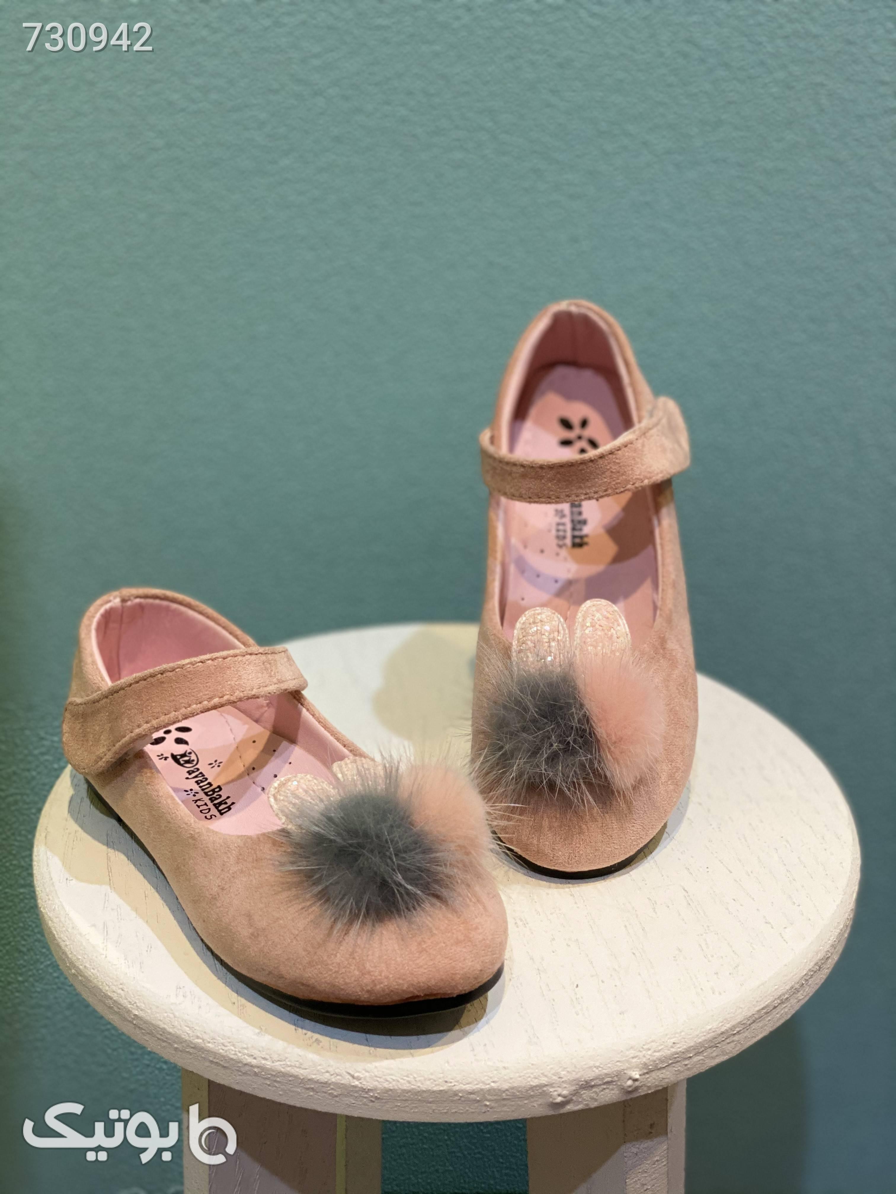 کفش عروسکی دخترانه کودک  مشکی کیف و کفش بچگانه