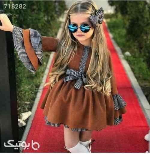 دخترانه مخمل - لباس کودک دخترانه