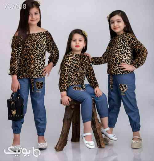 ست پلنگی - لباس کودک دخترانه
