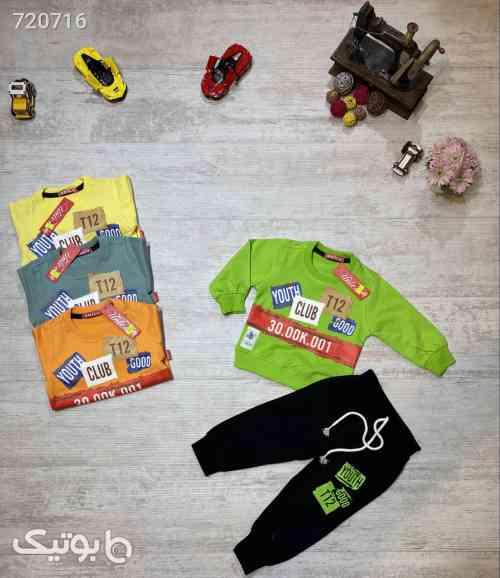 بلوز شلوار راحتی اسپورت پسرانه - لباس کودک پسرانه