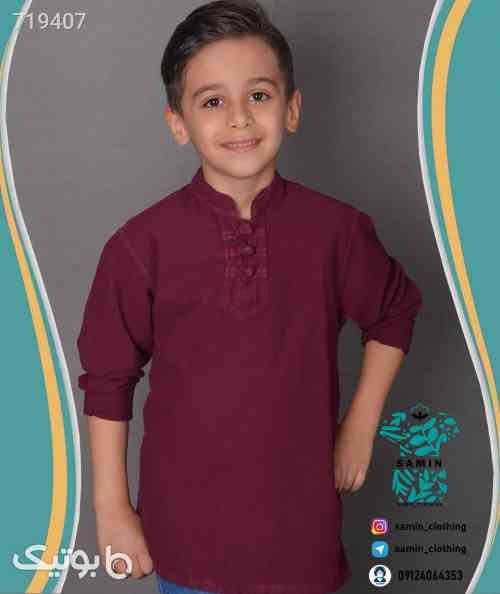 پیراهن الیاف سه گره  - لباس کودک پسرانه