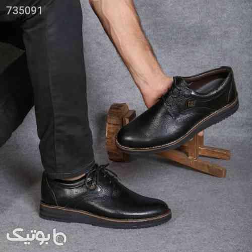 کفش چرم cat - كفش مردانه