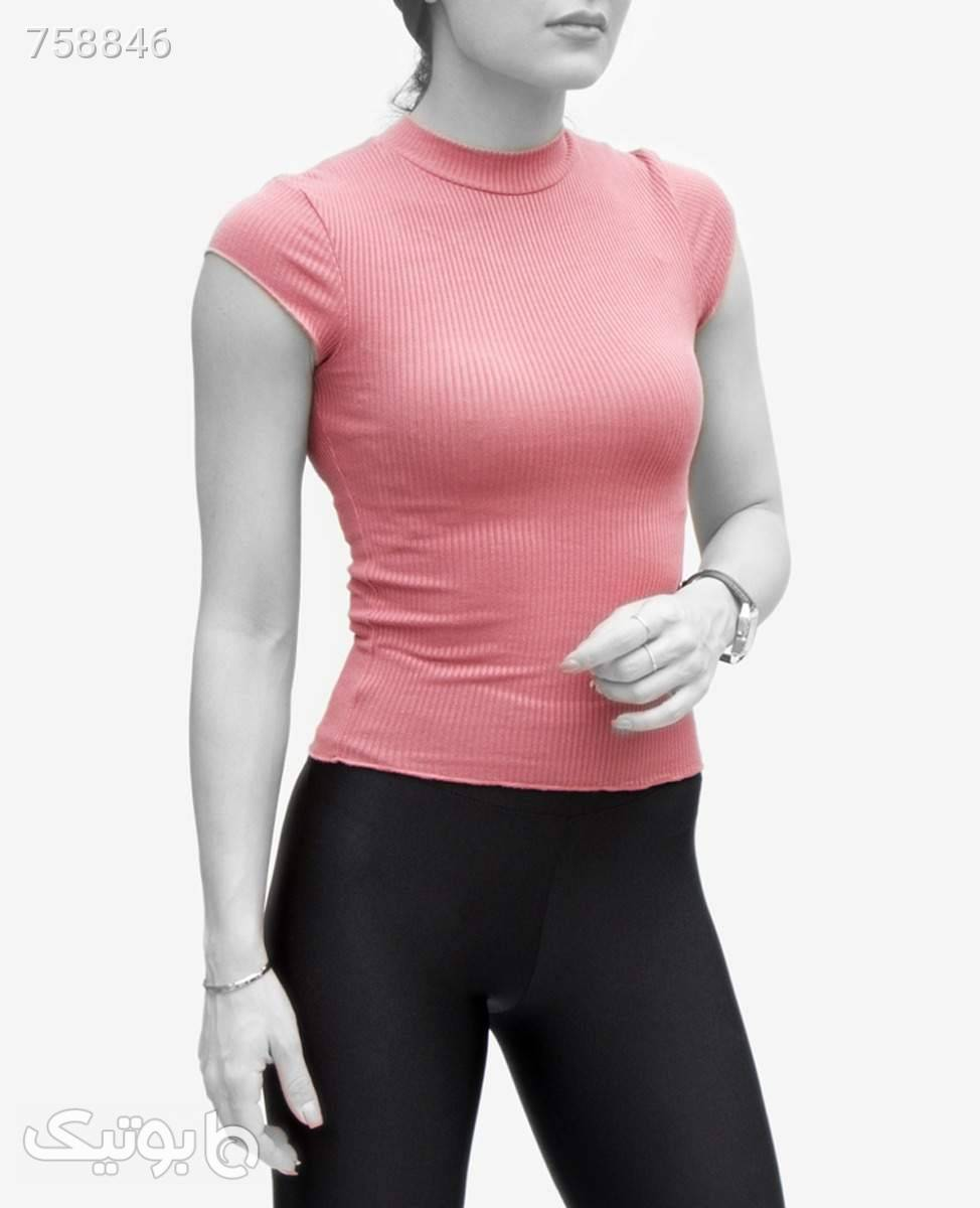 تاپ زنانه Bershka کد 9953Millennial PinkXS صورتی تاپ زنانه