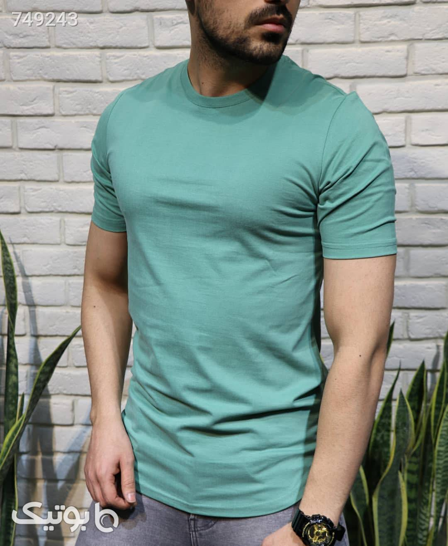 تیشرت اسپرت مردانه سبز تی شرت و پولو شرت مردانه