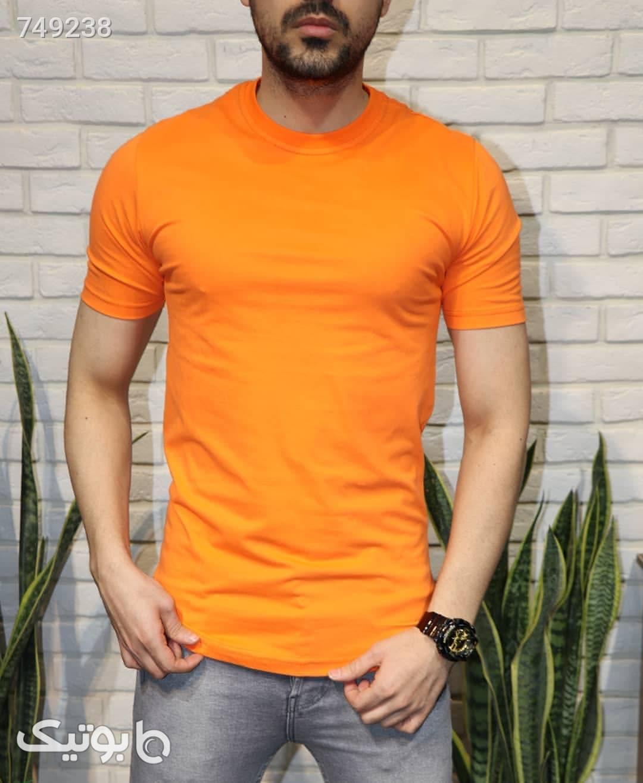 تیشرت ساده آبی تی شرت و پولو شرت مردانه