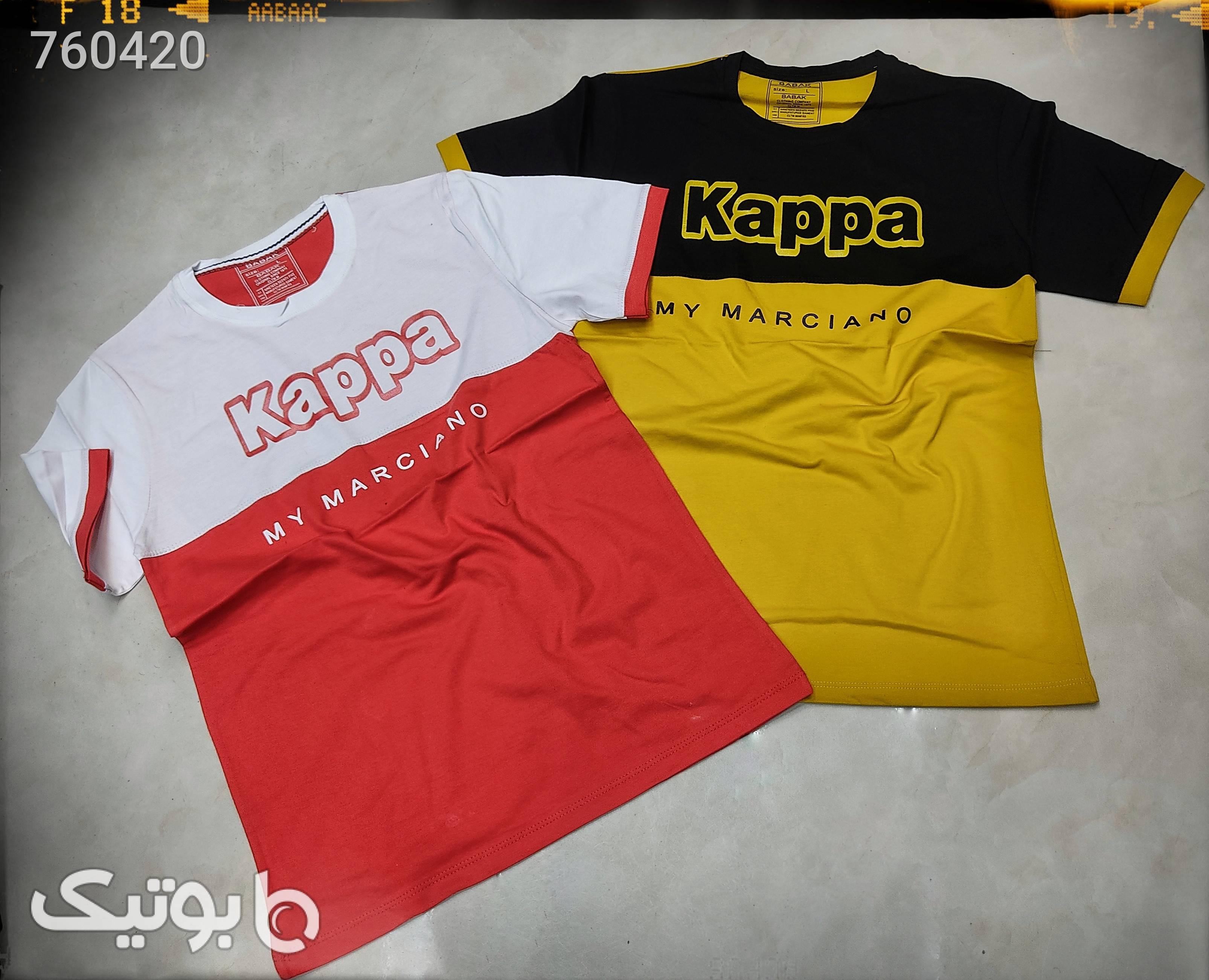 تیشرت کاپا  قرمز تی شرت و پولو شرت مردانه