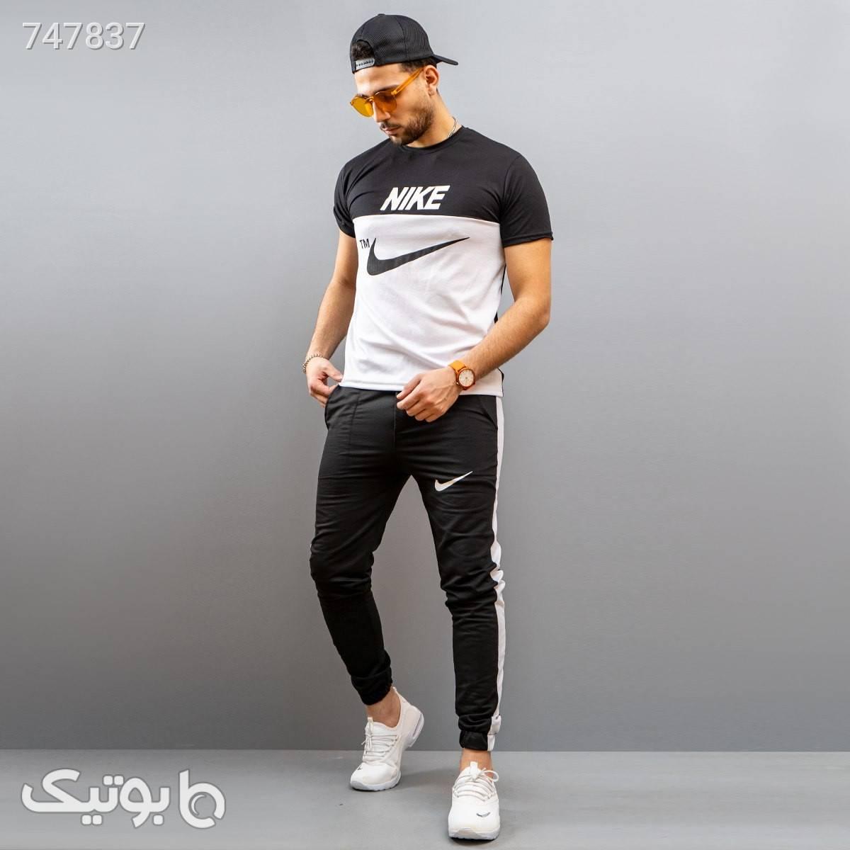 ست تيشرت شلوار nike مردانه مدل Irish مشکی تی شرت و پولو شرت مردانه