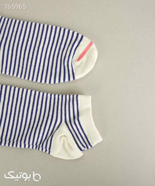 جوراب مردانه ساقکوتاه جوتی جینز JootiJeans کد 02852002 سفید جوراب و پاپوش