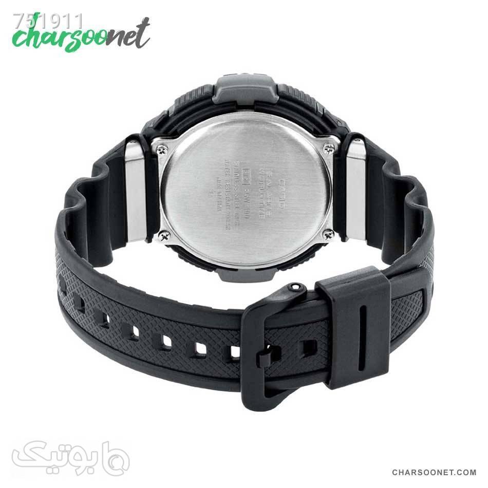 ساعت دیجیتالی کاسیو مردانه Casio Pro Trek SGW1001V مشکی ساعت