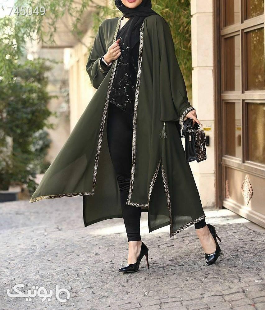 مانتو سایز بزرگ سبز سایز بزرگ زنانه