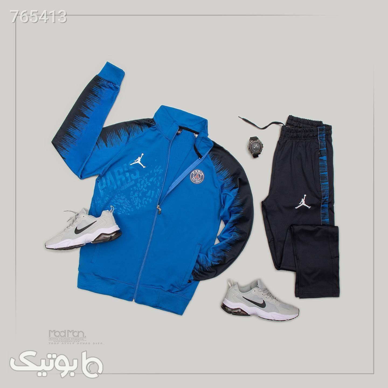 ست ورزشی مردانه  آبی ست ورزشی مردانه
