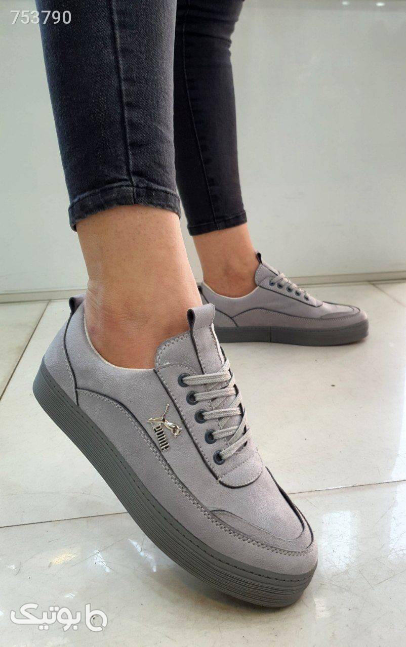 کیف و کتونی جدید مدل ستایش نقره ای ست کیف و کفش زنانه