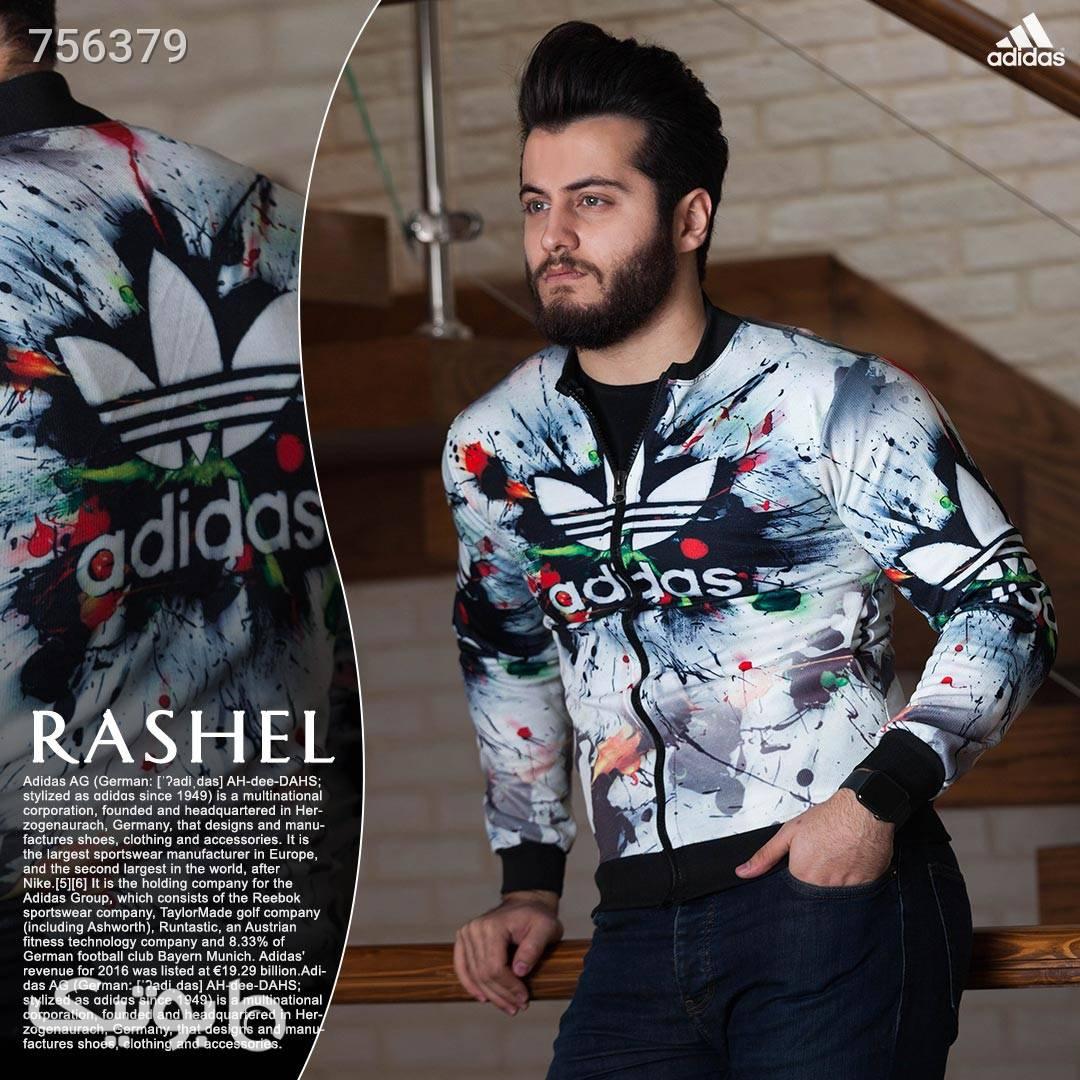 سویشرت مردانه مدل Rashel سفید سوئیشرت و هودی مردانه