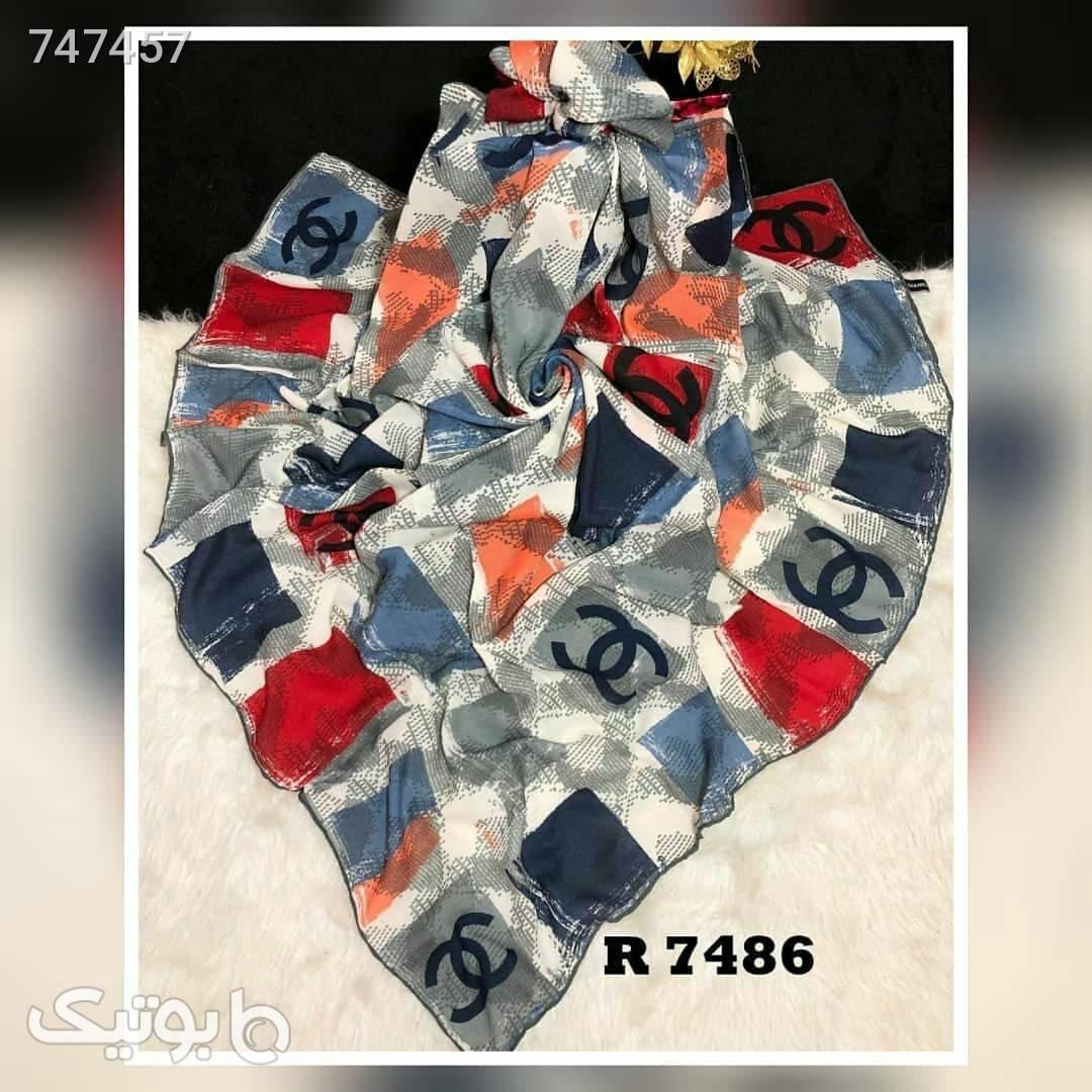 روسری طوسی شال و روسری