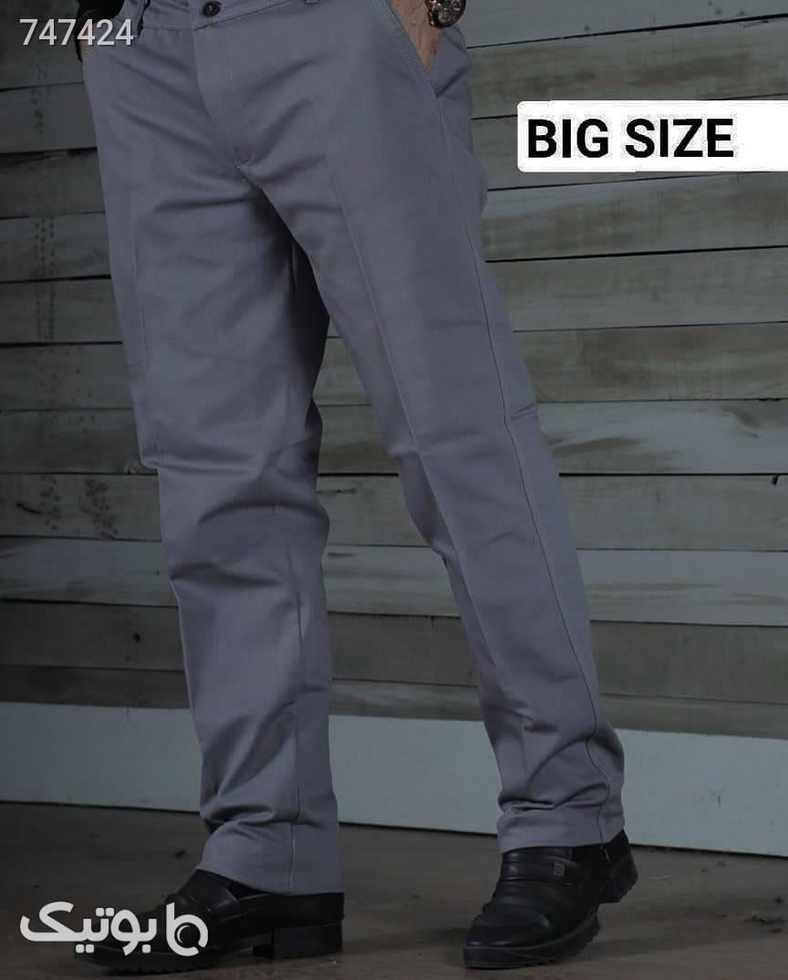 شلوار مردانه  مشکی سایز بزرگ مردانه
