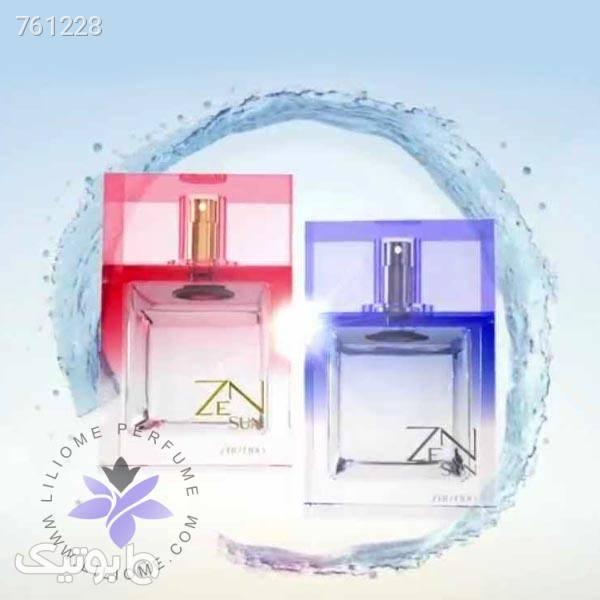 عطر ادکلن شیسیدو زن سان صورتی زنانه | Shiseido Zen Sun صورتی عطر و ادکلن
