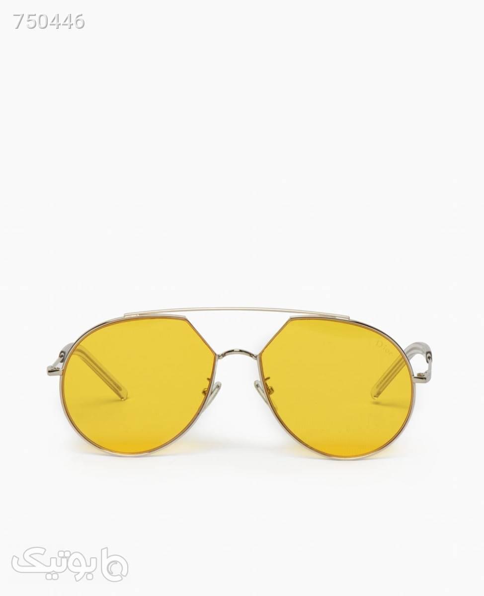 عینک شب DiorYellow قهوه ای عینک آفتابی