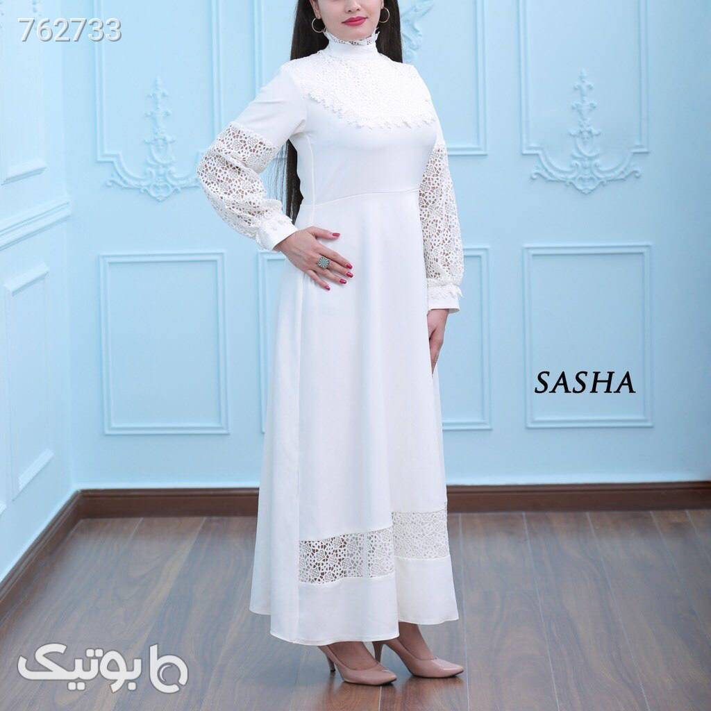 مهرسانا صورتی لباس عروس