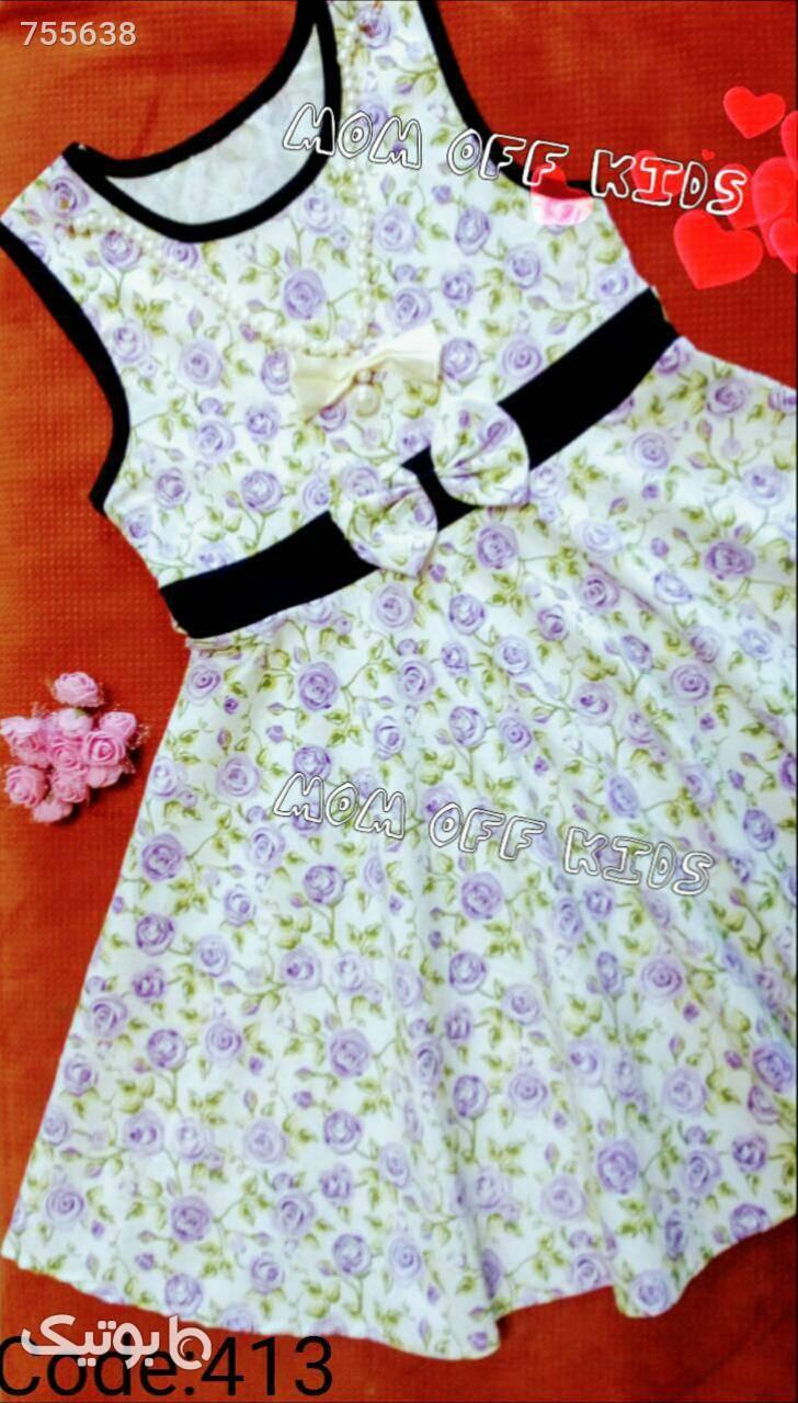 لباس مجلسی دخترانه  بنفش لباس کودک دخترانه