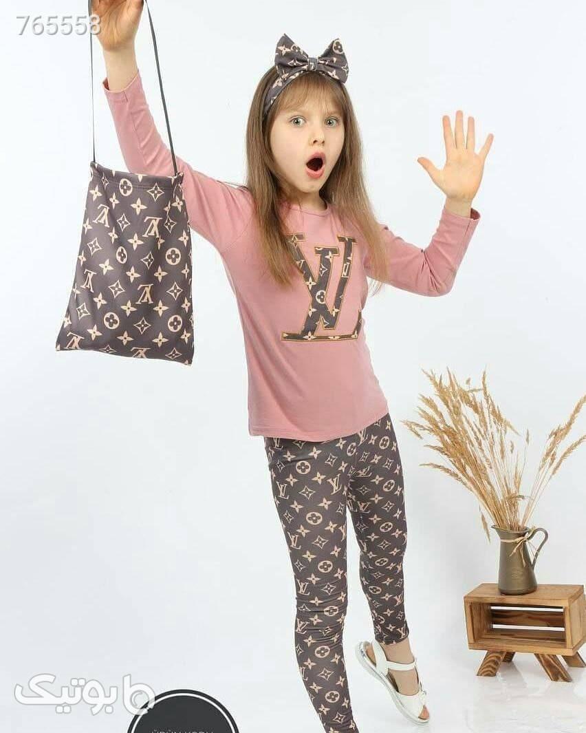لباس کودک دخترانه  صورتی لباس کودک دخترانه