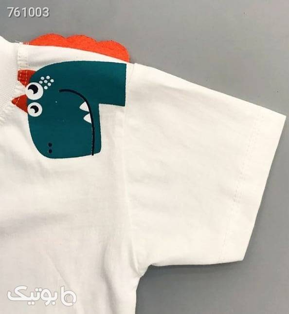بلوز و شلوارک پسرانه  سفید لباس کودک پسرانه