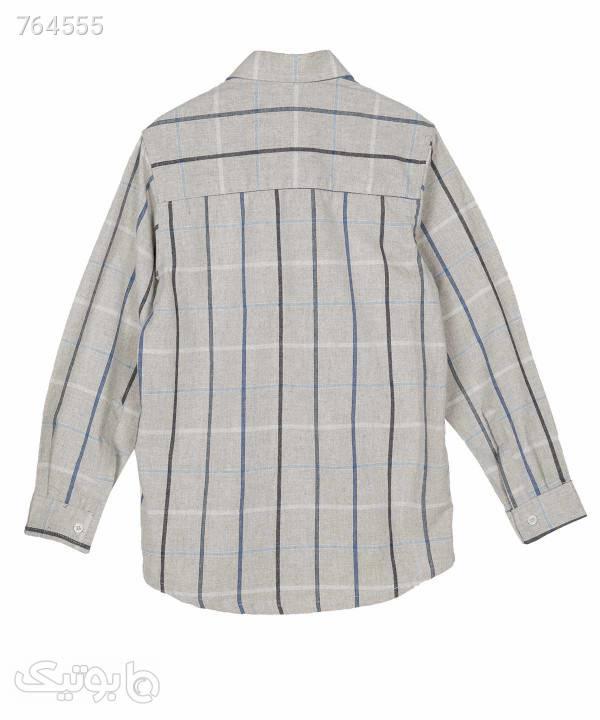 پیراهن پسرانه پاییزه پیانو Piano کد 7112 طوسی لباس کودک پسرانه