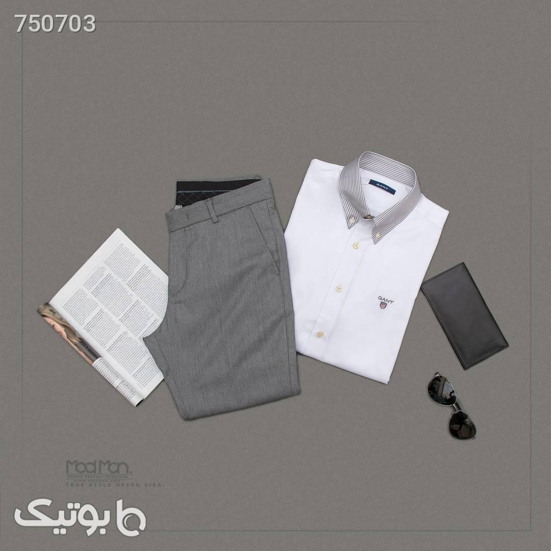 پیراهن مردانه سفید پيراهن مردانه