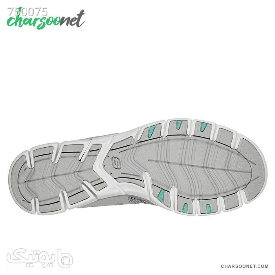 کفش پیاده روی اسکچرز زنانه Skechers Gratis 23360GRY نقره ای كتانی زنانه