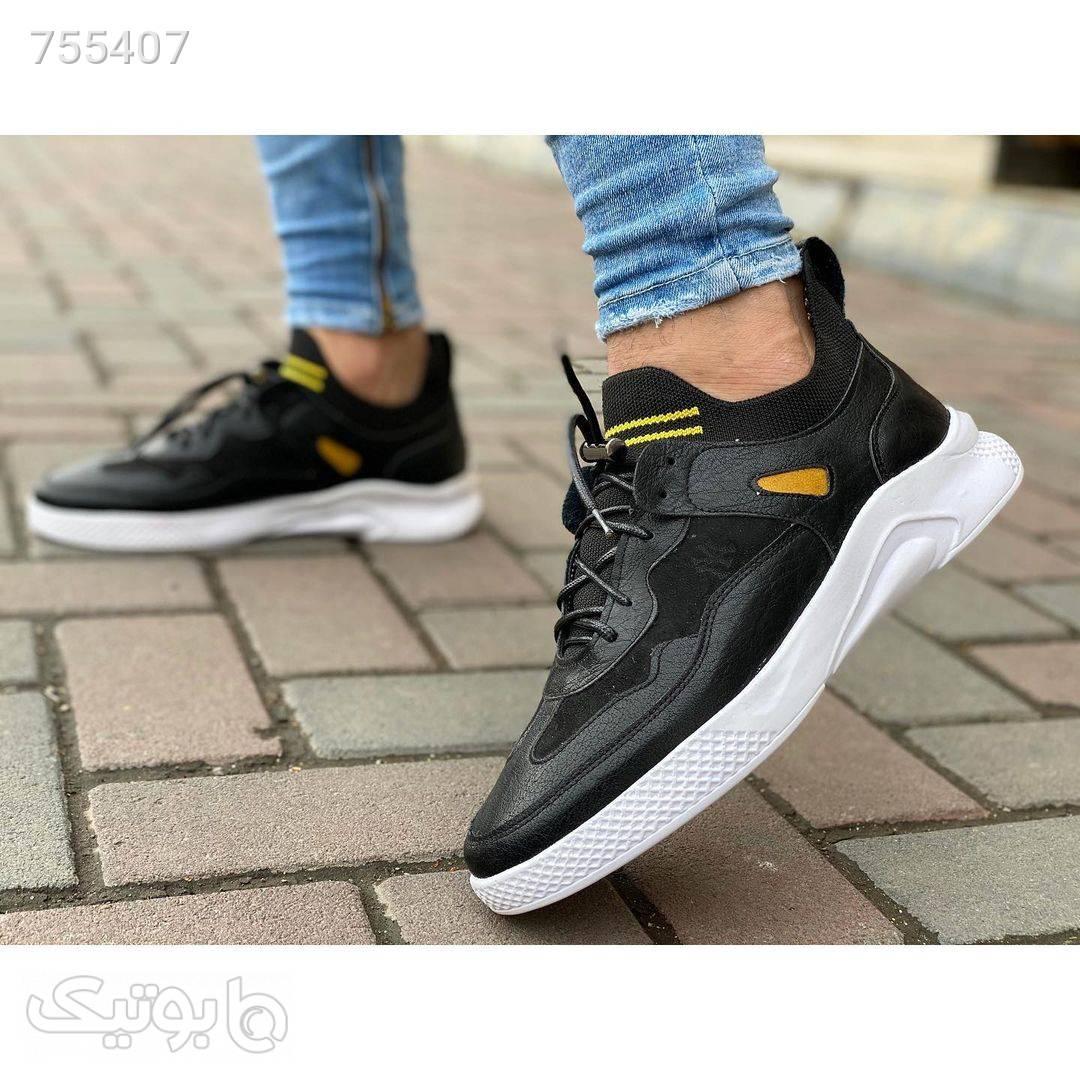 کفش مردانه اسپرت شیک مشکی كتانی مردانه