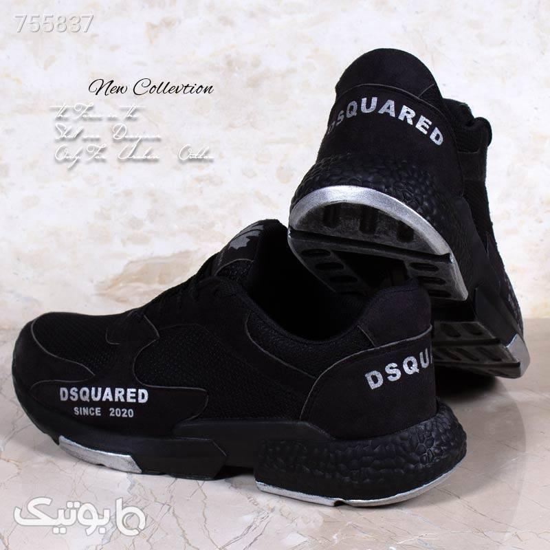 کفش مردانه مدل DSQمشکی مشکی كتانی مردانه