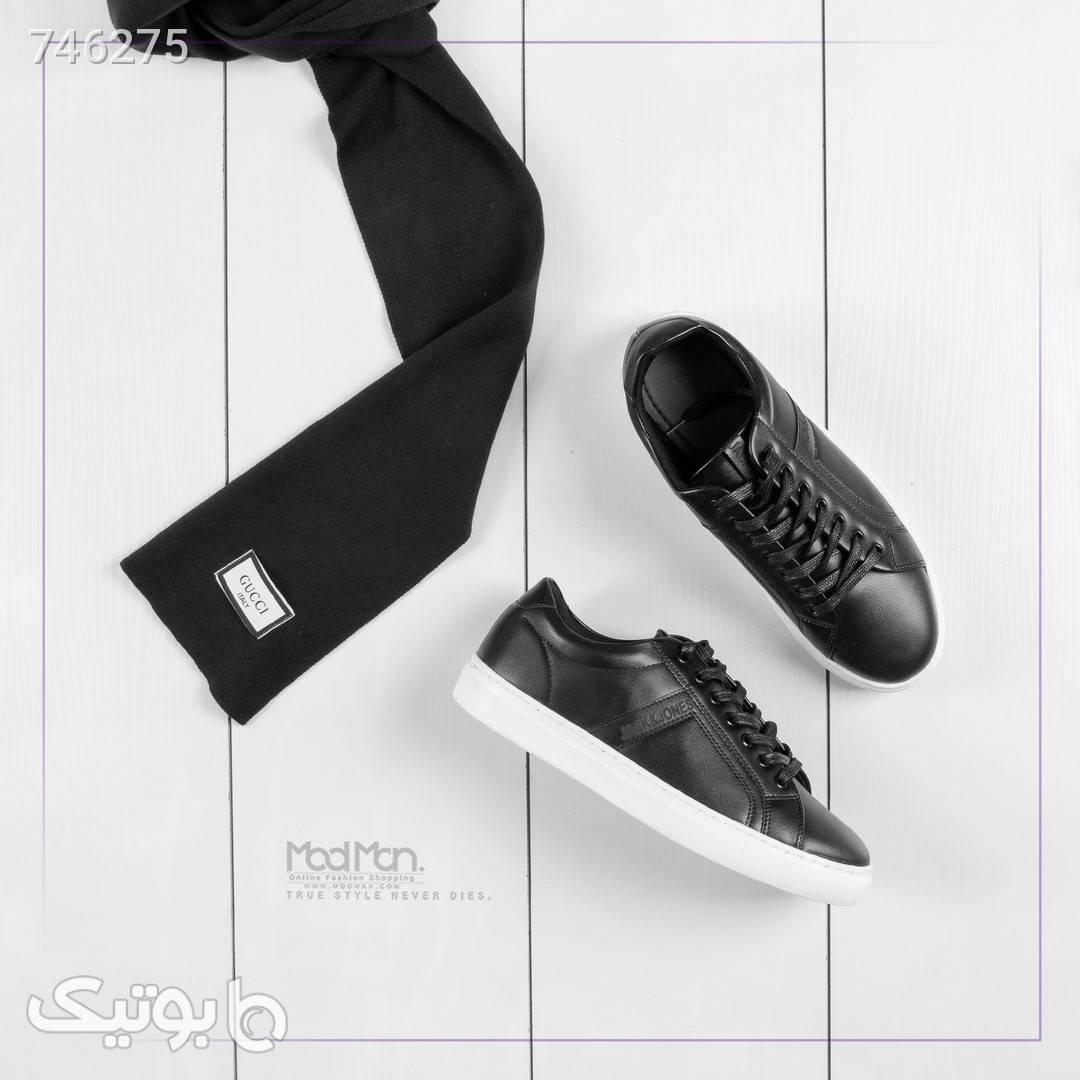 کفش مردانه  مشکی كتانی مردانه