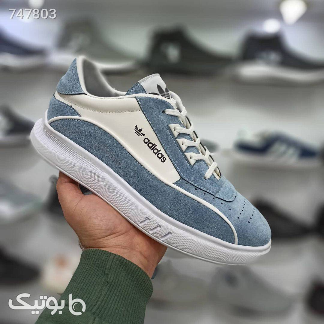 کفش مردانه شیک و جدید نقره ای كفش مردانه