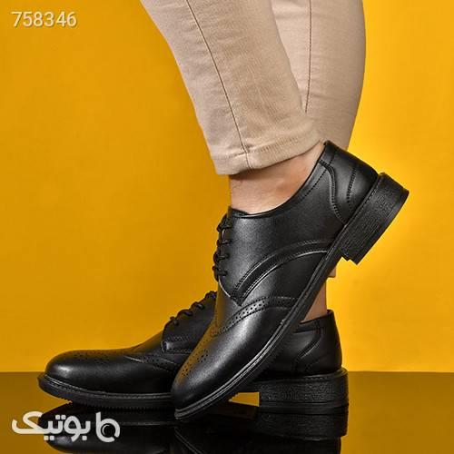 كفش مردانه مدل JIPO مشکی كفش مردانه