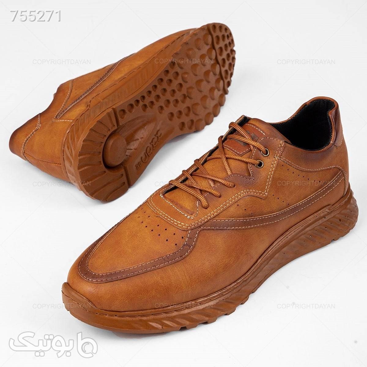 کفش مردانه Cat مدل 18945 قهوه ای كفش مردانه