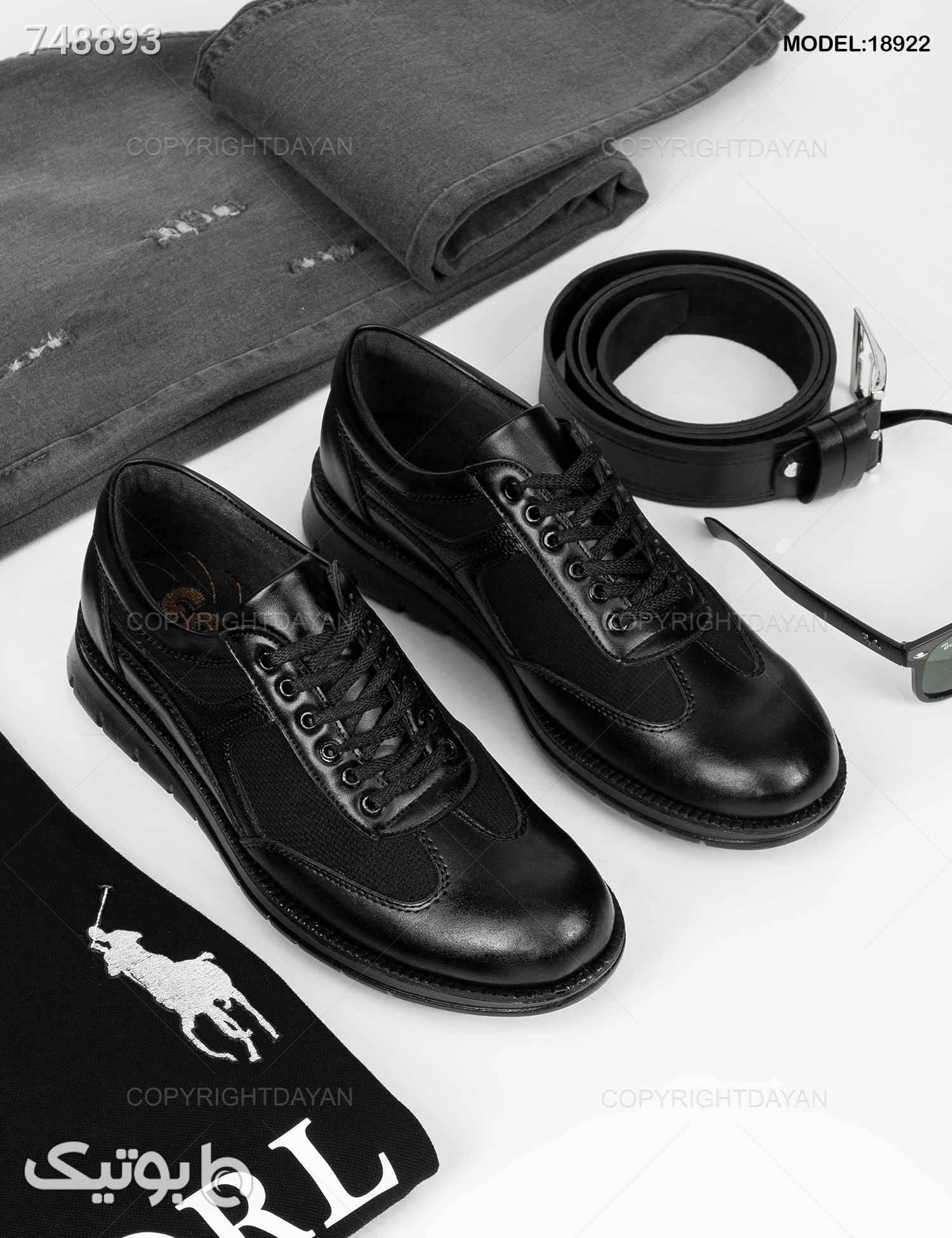 کفش مردانه Maran مدل 18922 مشکی كفش مردانه