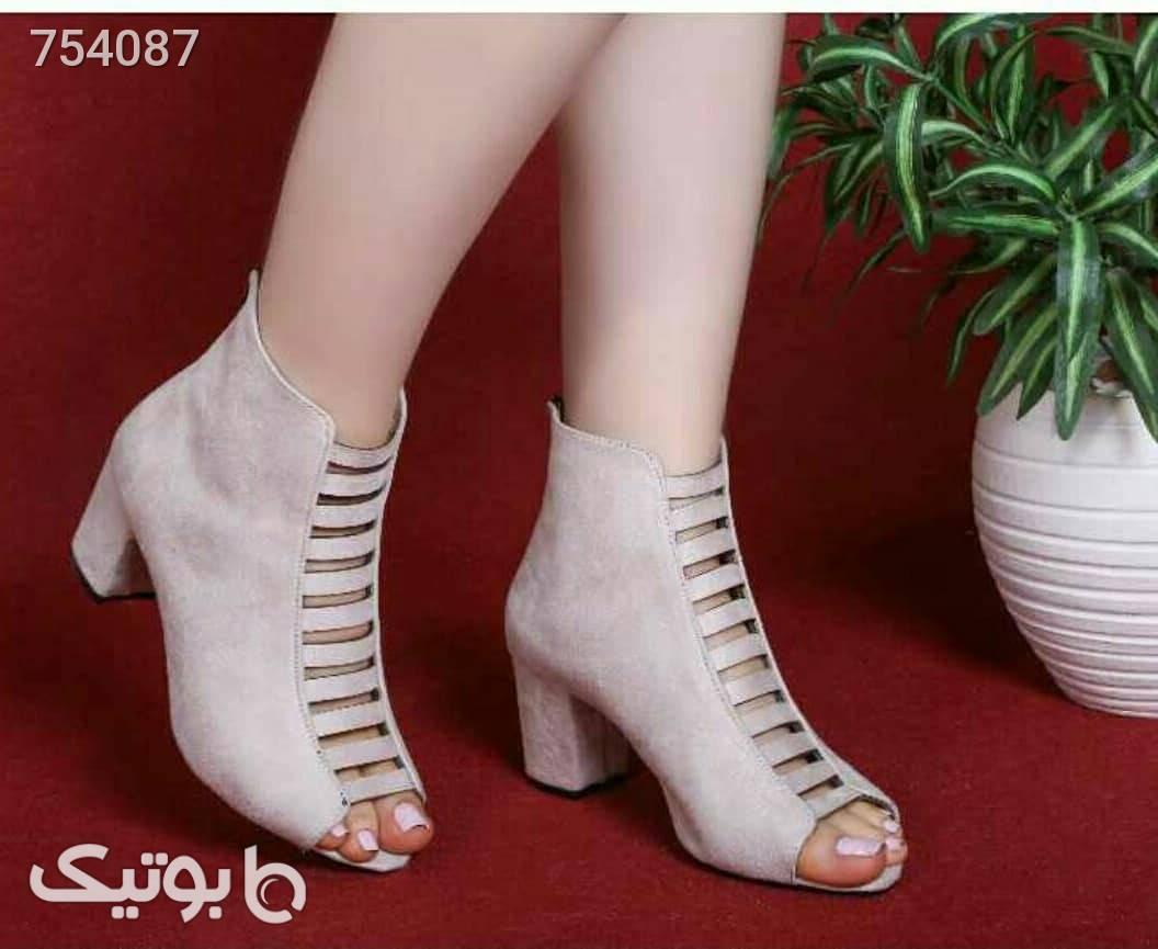 کفش زنانه  طوسی كفش پاشنه بلند زنانه