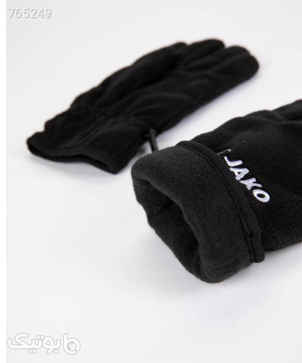 دستکش زمستانی جاکو Jako مدل 2587 مشکی کلاه بافت و شال گردن و دستکش