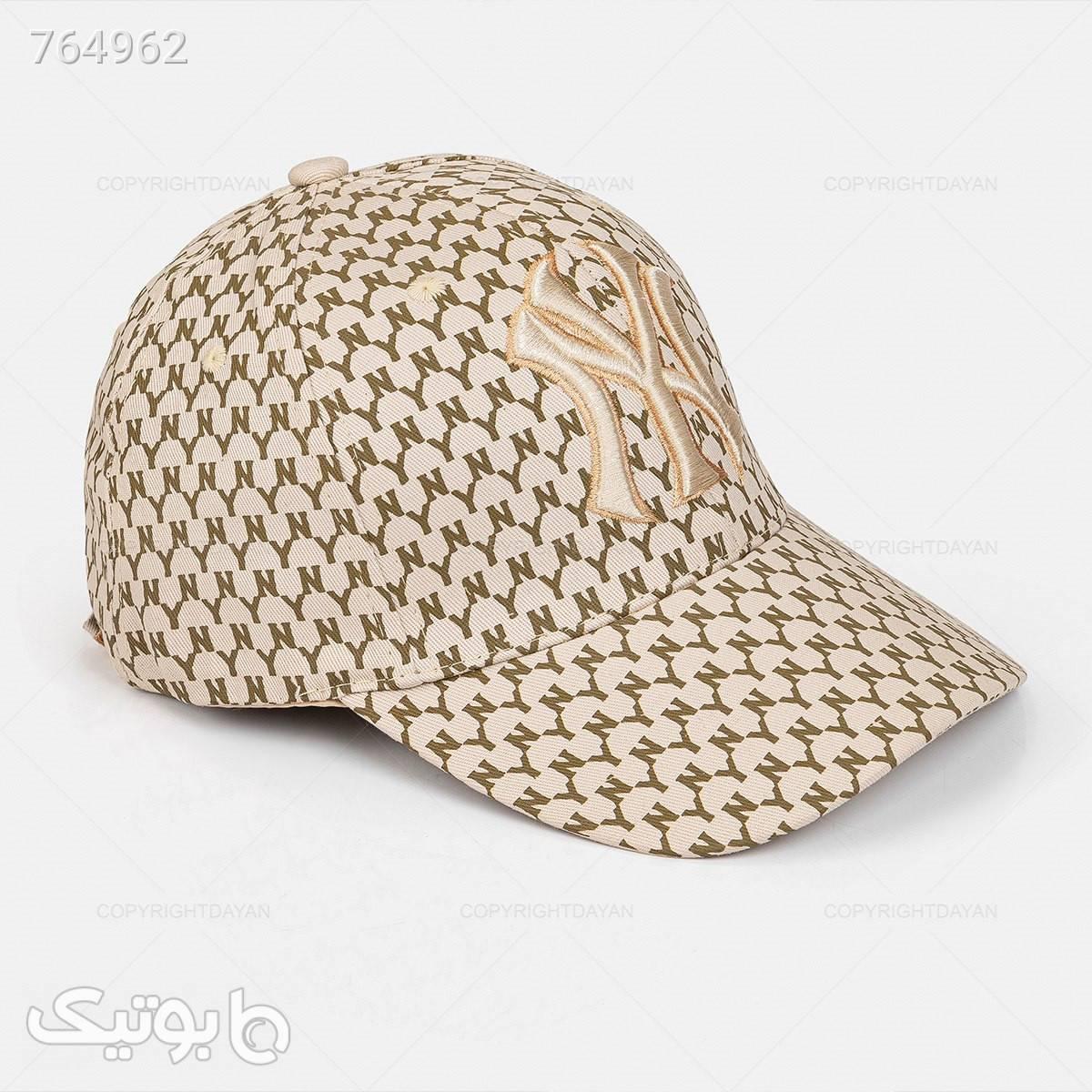 حراج کلاه کپ مدل 19095 کرم کلاه و اسکارف