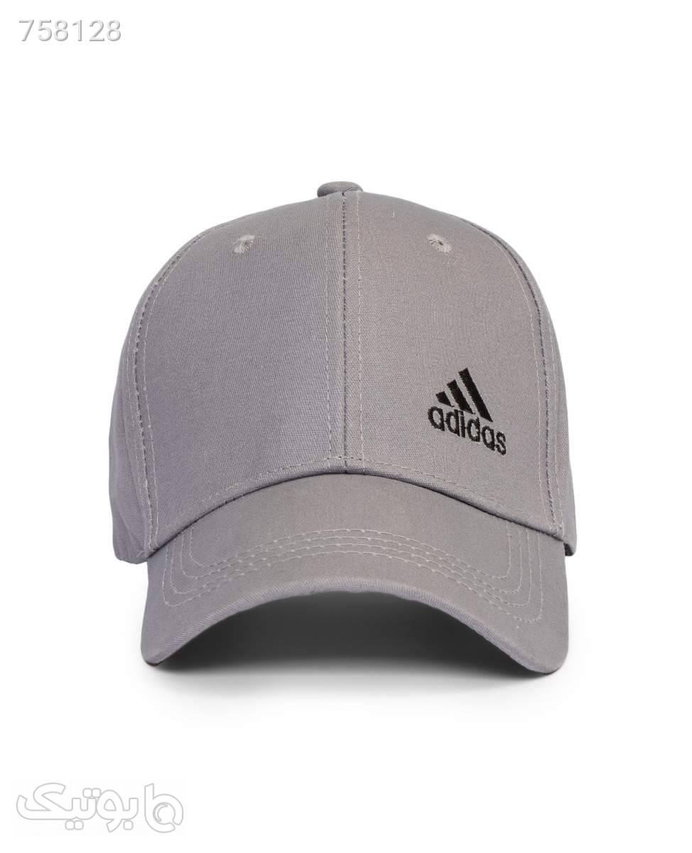 کلاه لبه گرد Adidas کد 6669LightGray طوسی کلاه و اسکارف