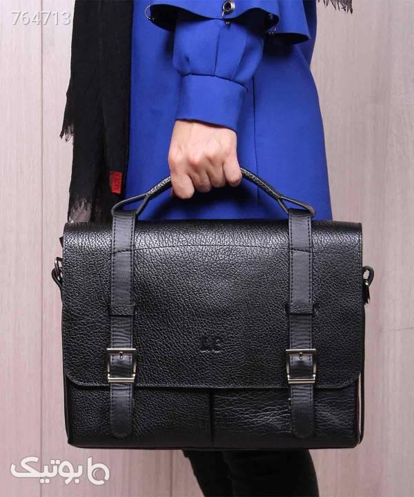 کیف چرم زنانه شهر چرم Leather City مدل N1520 مشکی كيف زنانه