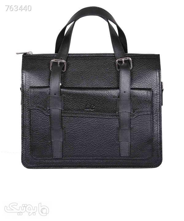 کیف چرم زنانه شهر چرم Leather City مدل N1521 سورمه ای كيف زنانه