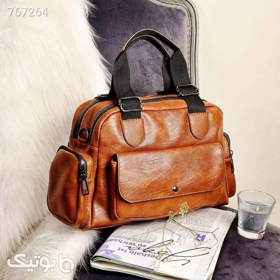 کیف دستی قهوه ای كيف زنانه
