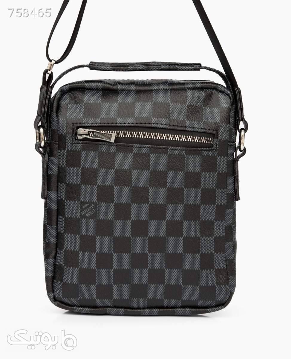 کیف دوشی Louis Vuitton کد 4155Black مشکی كيف مردانه